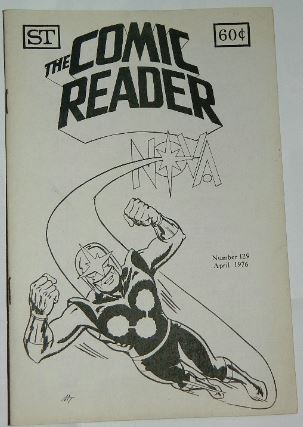 Comic Reader #129April 1976 RBCC ad
