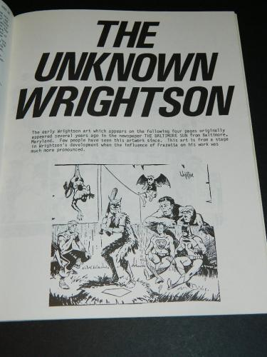 RBCC #138The Unknown Wrightson