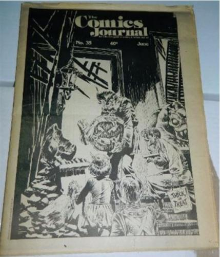 Comics Journal #351977 cover