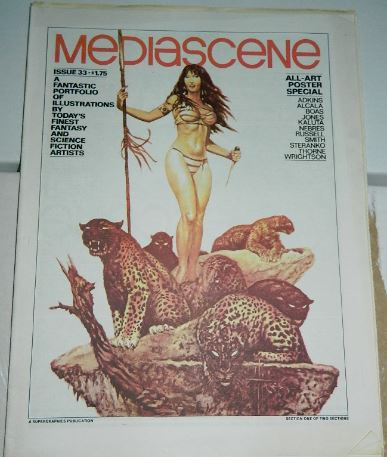 Media Scene #33Sep. 1978 2 illustrations, ad
