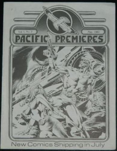 Pacific Premieres Vol. 1 #25/83 Master of the Macabre ad