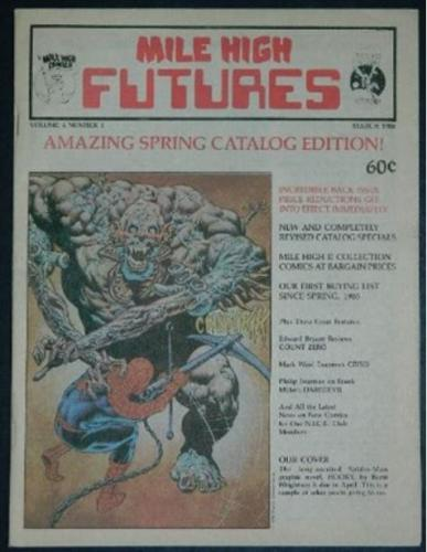 Mile High FuturesMar. 1988 cover
