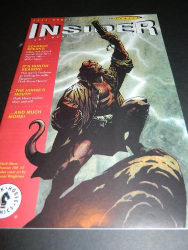 DH Comics Insider #44Aug 1995 cover