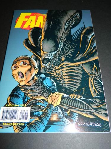 Overstreet Fan #5Oct. 1995 cover