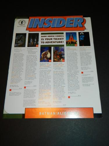 "DH Insider Vol.III #15Mar. 1997 ""Batman Aliens"""