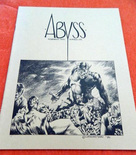 "Abyss11/70 - cover, 8 pgs. ""Revolting Rhymes"""