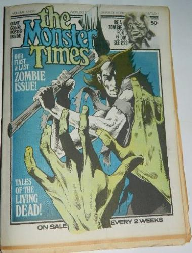 The Monster Times Vol.1 #61972 - Badtime Stories review