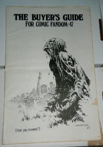 Buyers Guide for Comic Fandom #47Nov. 1973 cover