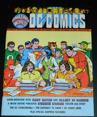 Amazing World of DC Comics Vol.1 #2Sep. 1974 Illustration
