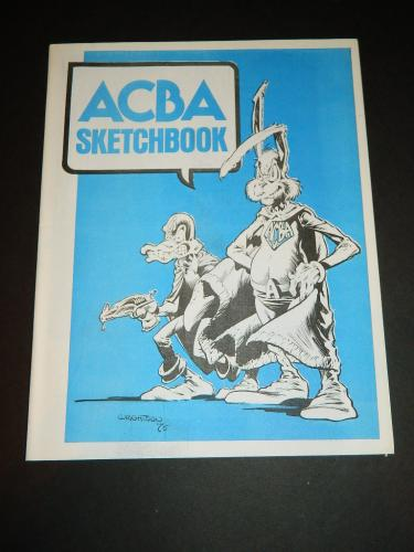 ACBA Sketchbook1975 cover, illustration