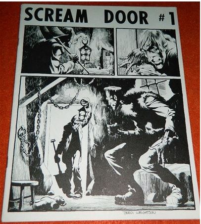 Scream Door #11971 - cover, 1 Illustration