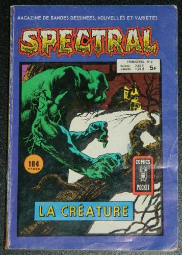 Spectral Pocket BookFrance - soft coverSwamp Thing & other stories B&W
