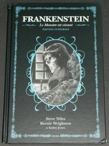 Frankenstein - Le Monstre Est VivantSoliel 2018 hardcoverContains all 4 Alive/Alive - France