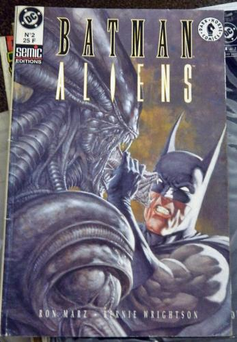 Batman Aliens #2France
