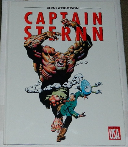 Captain Sternn Hardcover - FranceDevolution Dilemma, They Just Fade Away, The Potty's Over