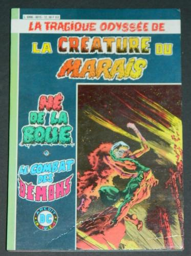 Swamp Thing Series Pocket Book - France soft cover - color
