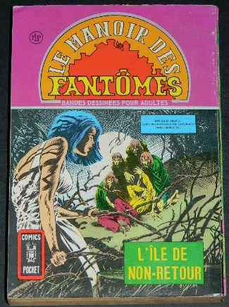 Le Manoir Des Fantomes no.5 - 1976France - Back coverPocket Book