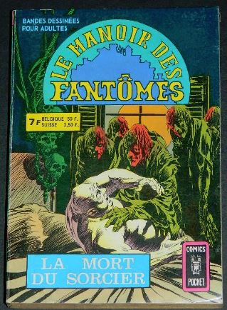 Le Manoir Des Fantomes no.5 - 1976France - coverPocket Book