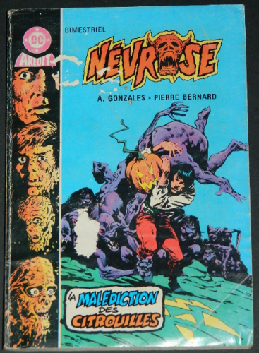 Nevrose 3France,1985 coverPocket Book