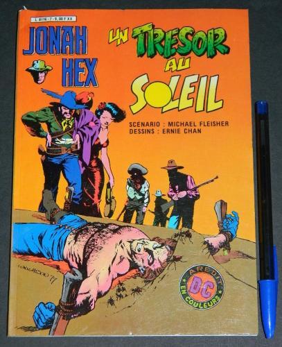 Jonah He No.7 Un Tressor Au SoleilFrance - 1982coverPocket Book