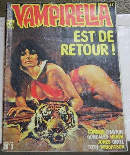 Vampirella #1France - Apr. 1978Reuben Youngblood, 3 page article