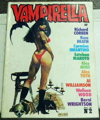 Vampirella #2France - Muck Monster