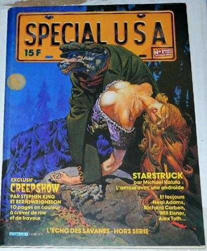 "Special USA #1France - 1983 cover""Something to Tide You Over"""