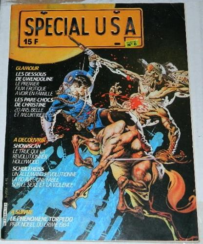 "Special USA #6France - 1984 cover""Love Under Laboratory Conditions"""