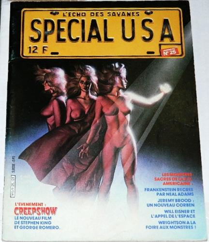 Special USA #25France - Jan 19831st 8 pages of Creepshow