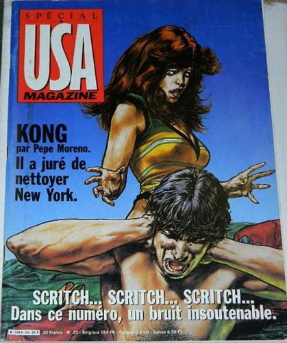USA Magazine #20France - 1987H.O.M. #204