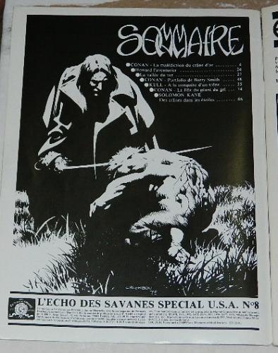L'Echo Des Savanes Special USA #8 - Solomon Kane
