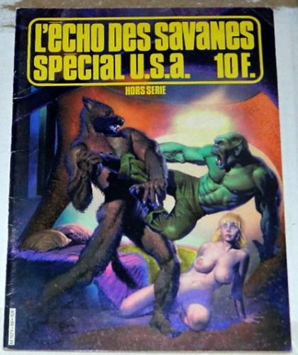"L'Echo Des Savanes Special USA #18France - ""The Last Hunters"""