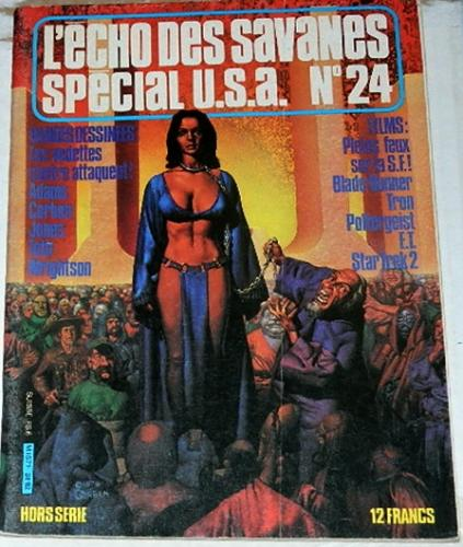 "L'Echo Des Savanes Special USA #24France - National Lampoon ""Bewitched"""