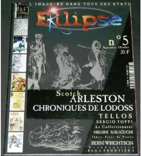 Eclipse #5France - Sept/Oct 2000part cover/ 9 pg. article