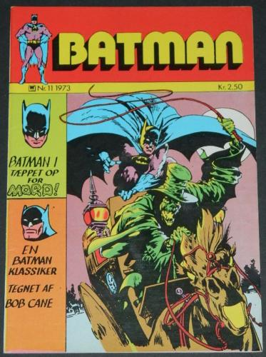 Batman #11Denmark - 1973cover