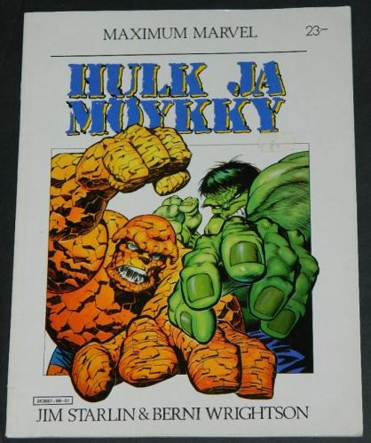 Hulk & ThingFinland - soft cover