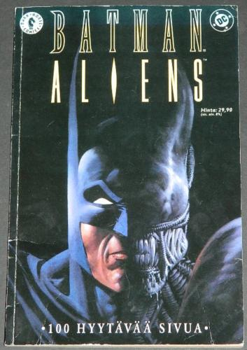 Batman AliensFinland Graphic Novel