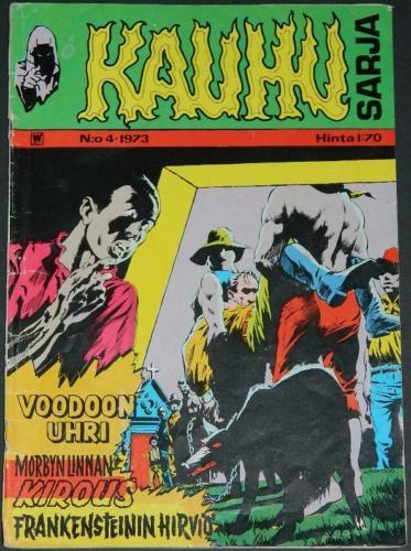 Kauhu Sarja #4Finland - 1973cover