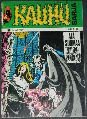Kauhu Sarja #1Finland - 1973cover