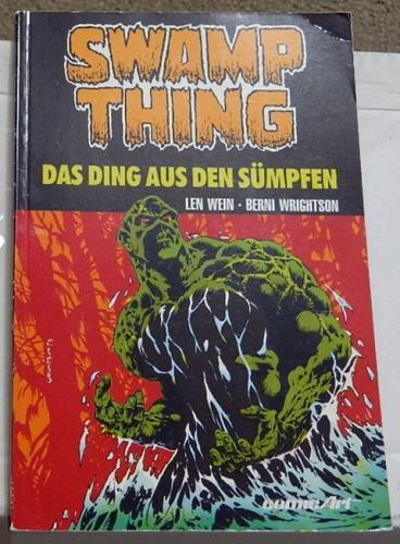 Swamp Thing Graphic Novel #1 - GermanSwamp Thing #1 - #5