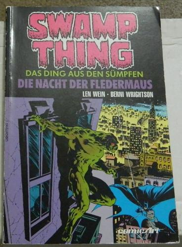 Swamp Thing Graphic Novel #2 - GermanSwamp Thing #6 - #10