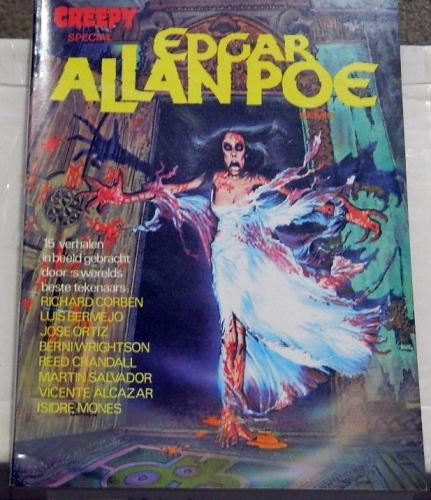 "Creepy Special Edgar Allen Poe - German""Black Cat"" story"
