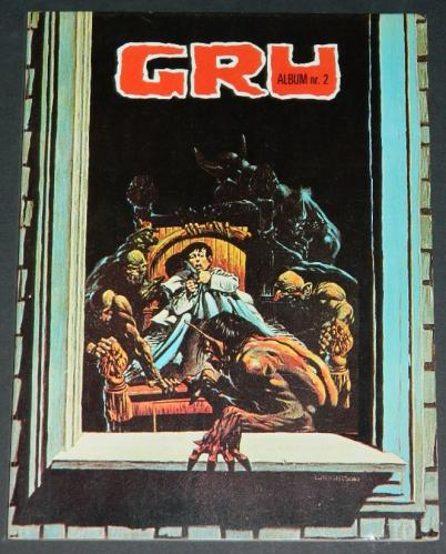 "GRU Nr.2Netherlands - 1977cover, ""Pepper Lake Monster"", ""Clarice"", ""Cool Air"", ""Night Fall"""