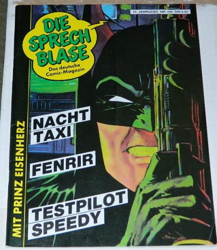 Die Sprech BlaseGerman - Apr. 1990cover front and back