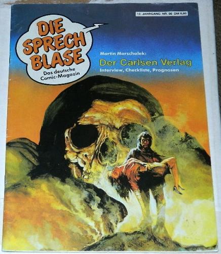 Die Sprech BlaseGerman - Oct. 1987article & illustration
