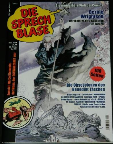 Die Sprech Blase Nr.231German - 11/2014cover and interior article