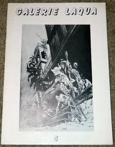 Galerie Laqua #5German - 1989cover, 3 pgs. art