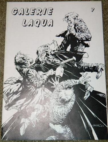 Galerie Laqua #7German - 1990cover, 4 pgs. art