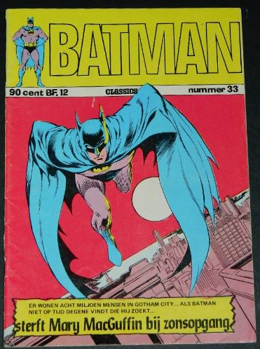 Batman #33Dutch - 1973Batman #241 cover inks