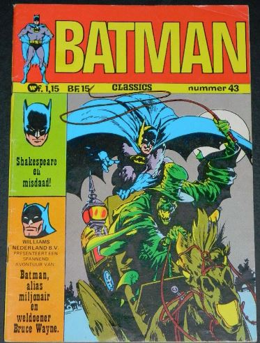 Batman #43Dutch - 1973cover